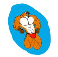 MyPaint: Buff Fox Experiment by CaseyLJones