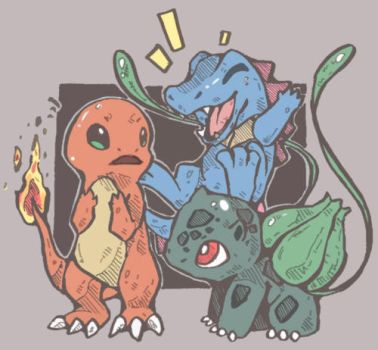 PMD Starters! by Sicarina