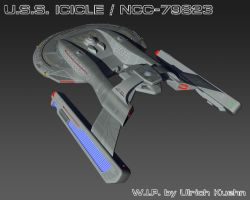 USS ICICLE / NCC-79823 W.I.P.-076 by ulimann644
