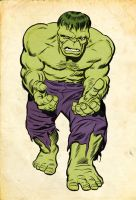 Kirby Hulk... Jolly Green Giant version by Simon-Williams-Art