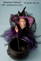 Little Witch 1 by deathbycanon-stock