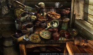 Sweeney Todd Dirty dish by kidy-kat