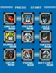 Destroy the Robot Masters by ninjaink