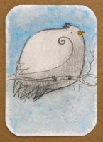 White Bird ACEO by SethFitts