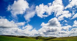 Clouds From Roystone Rocks by TheRealAverageDrawer