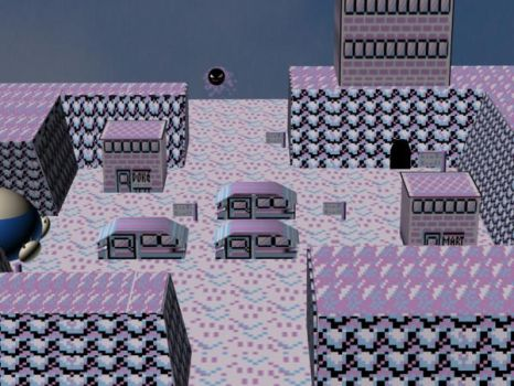 Lavender Town-3DS MAx by Ruin-Shade