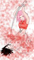 die my darlin' by NaruHina--SasuSaku