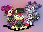 F***ed Up Cutie Mark Crusaders. by ANDREU-T