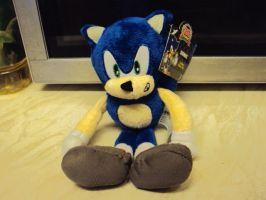 Sonic Plush No.9 by DazzyDrawingN2
