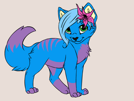 my newest charater ???? name her by misty-warriors