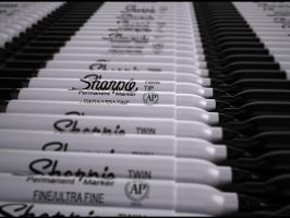 Sharpie Markers by 4f6f3b