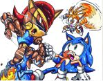 mecha sally sonic tails by trunks24