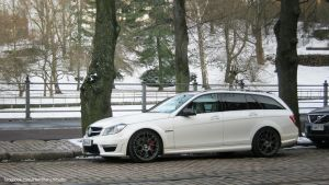 Mercedes-Benz C63 AMG Wagon by ShadowPhotography