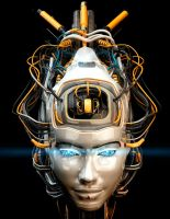 Asian robotic girl by Ociacia