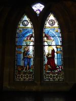 Stained glass window by mickyjenver
