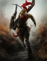 Crossbow Infantry by OOQuant