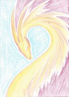 A Dragon Called Phoenix ATC/ACEO by RowanWatersprite
