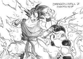 Dragon Ball Z Battle Of God Fukkatsu No F by Graxile