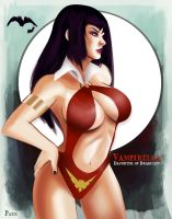 vampirella by DarthTerry