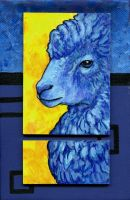 Blue Sheep by ursulav