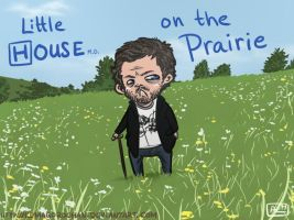 Little House on the Prairie by Kumagorochan