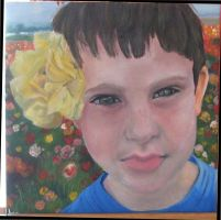 My Brother _oil colors by lyutz