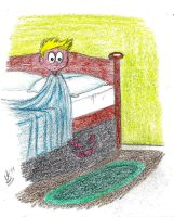 21. Monster under the bed by Icemaya