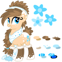 Fauna Everfree's new design! by Rainjay-xx