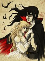 Alucard: Blood of my Blood by littleFernanda