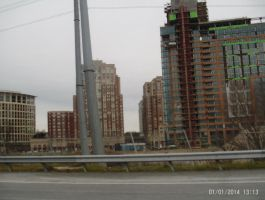New high rises by OceanRailroader