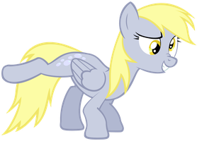 Derpy doing what she does best... by beastywizard