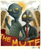 the mute by monez04