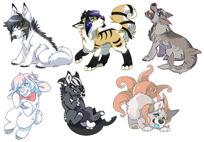 commission batch #1 by Keesness