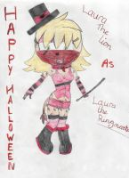 laura lion's halloween outfit by angle243