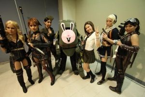 Sucker Punch Group Cosplay by zehntes