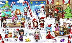 Loltracker team wishes you happy holidays ! by Hyldenia
