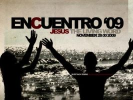 ENCUENTRO 09 Poster by TheSleepyhead