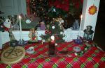 Yule Altar 2014 by callievamp