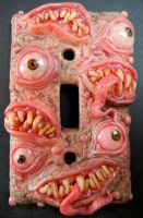 monster switchplate version 2 by dogzillalives