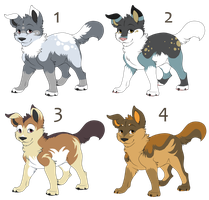 Puppy point adopts by tootflap
