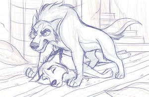 AuthorDC - Commission #2 WIP by kohu-scribbles