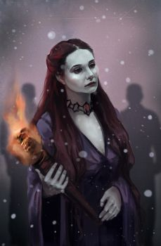 Melisandre of Asshai by PolliPo
