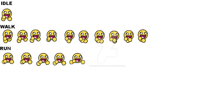 Chaos Faction 2 - Awesome Face Sprite Sheet W.I.P. by GameHunterYoutube