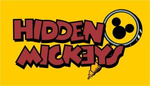Hidden Mickeys Logo by AeonDesika