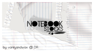 Notebook Stocks 001 x6 by vanityandwax