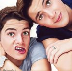 Jack and Finny by icakeyyy