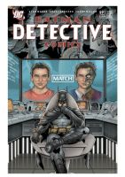 Detective Comics Fake Cover by angelsaquero