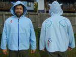 Rainbow Dash Cosplay Hoodie - 2/3XL For Sale! by Monostache
