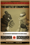 Boxing Poster Commission by EmeraldSora