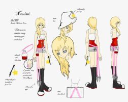 Namine Concept Art Contest by italktotherain